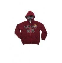 Teen boys sweater cardigan rumba red (4 pcs)
