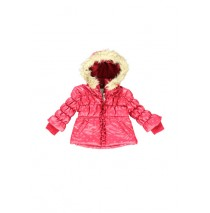 baby girls jacket cerise (2 pcs)