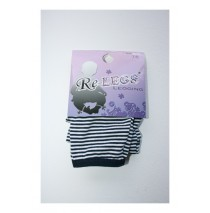 Baby Legging Stripes with Bow multi navy (5 pcs)