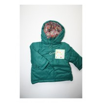 Baby girls jacket cadmium green (4 pcs)