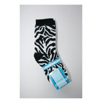 Girls Socks Animal prints black (6 sets of 3 pcs)