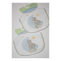 Giftset Little Bird 2 sets slabbetjes (4 slabbetjes)