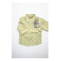 Evening Flowers blouse spirit green (5 pcs)