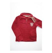 Miners International fleece sweater warm red (5 pcs)