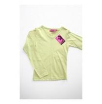 Casual basic shirt long sleeves green (6 pcs)