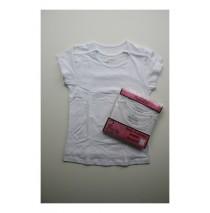 Girls basic stretch 2-pack shirt optical white (2 pcs)