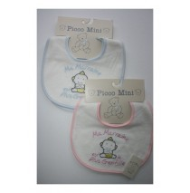 Ma Marraine est la plus gentille 2 sets bibs blue+pink (4 pcs)