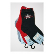 Baby Socks I love papa & mama angel black (7 pair of 3 pcs)
