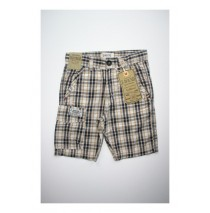 Ashen checked bermuda beige (4 pcs)