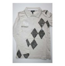 Deals - Wave poloshirt light gray (5 pcs)