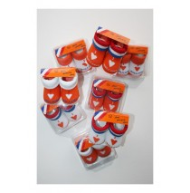 Baby Socks giftbox I love Holland orange assorti (8 pair)