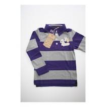 Recoloured classics poloshirt parachute purple (4 pcs)