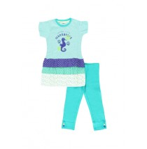 Creed set shirt+legging spectra green (4 pcs)