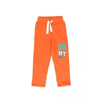 Small boys jogging pant mandarin red (4 pcs)