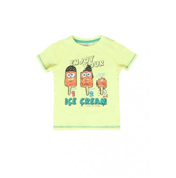 Deals - Impulse shirt yellow-green peckle (4 pcs)