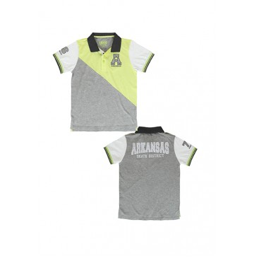 Deals - Core polo sunny lime (4 pcs)