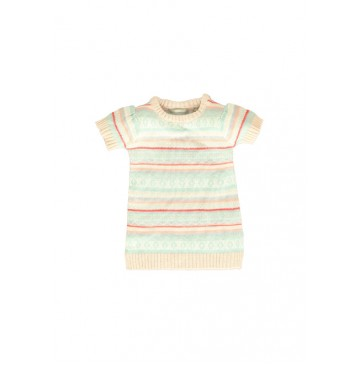 Baby girls dress peach blush (4 pcs)