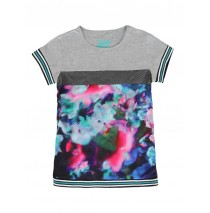 Deals - Global Mix t-shirt Combo 1 grey melange (4 pcs)