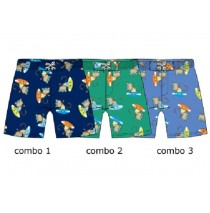 Global Mix baby boys swimwear combo 2 pepper green (4 pcs)