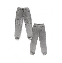 Deals - Remaster jogging pant Combo 1 grey (3 pcs)