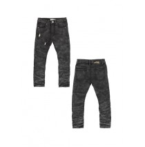 Deals - Remaster Jog denim pant skinny fit black (5 pcs)