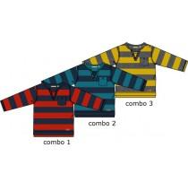 Artisan shirt Combo 3 dark gray melange (4 pcs)