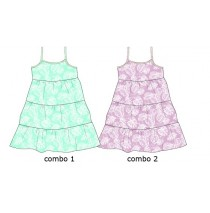 130402 Encounter baby girls dress Combo 2 orchid (4 pcs)