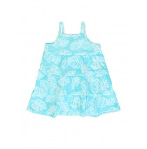 130402 Encounter baby girls dress Combo 1 blue radiance  (4 pcs)