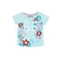 130408 Encounter baby girls shirt combo 1 blue glow (4 pcs)