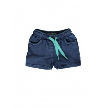 130499 Encounter baby girls short blue (4 pcs)