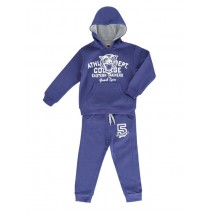 130509 Sport small boys set sweatshirt + pant medieval blue (5 pcs)