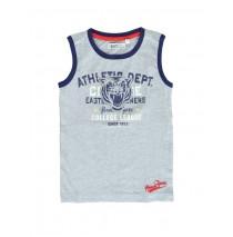 Sport small boys singlet Combo 1 gray melange (6 pcs)