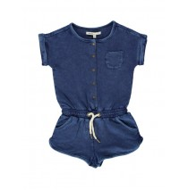 130542 Digital Wave small girls overall blue (5 pcs)