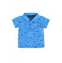 Riviera baby boys polo combo 1 french blue (4 pcs)