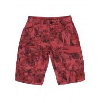 130565 Encounter teen boys bermuda red (5 pcs)