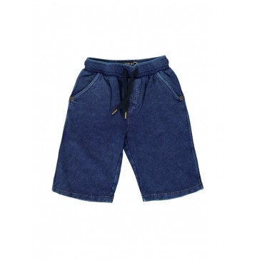130593 Digital wave small boys bermuda blue (5 pcs)