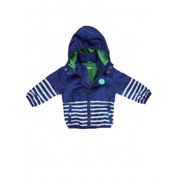 Baby boys jacket medieval blue+wet weather (8 pcs)