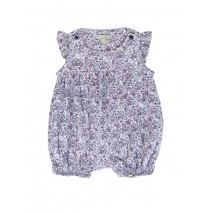 Pauze baby girls overall combo 1 crown blue (4 pcs)