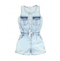 131045 Encounter small girls overall light blue (5 pcs)