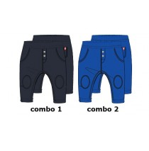 131069 Baby boys jogging pant combo 2 nautical blue (4 pcs)