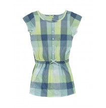 131119 Riviera small girls dress pale lime yellow (5 pcs)