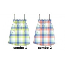 131124 Baby girls dress Combo 2 conch shell (4 pcs)