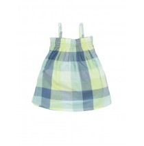 Baby girls dress Combo 1 pale lime yellow (4 pcs)