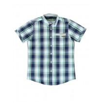 Pauze teen boys blouse dark blue (5 pcs)