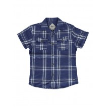Edgelands teen boys blouse blue 164 (1 pc)