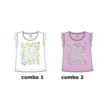 131132 Edgelands small girls shirt combo 2 orchid (6 pcs)