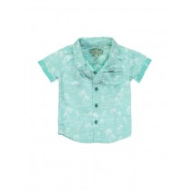 Deals - Baby boys blouse combo 1 green (4 pcs)