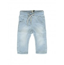 131179 Encounter baby girls Jog pant denim light blue (4 pcs)