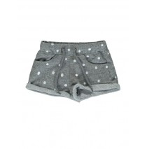 131198 Pauze small girls short light grey melange (5 pcs)