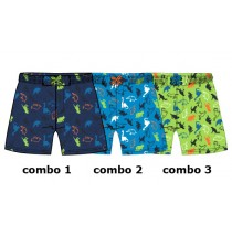 131326 Baby boys swimwear combo 3 greenery (4 pcs)